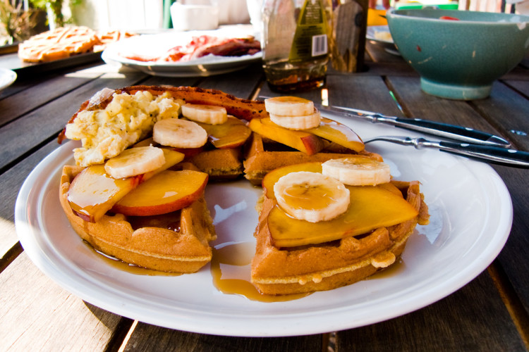 Santa Cruz breakfast