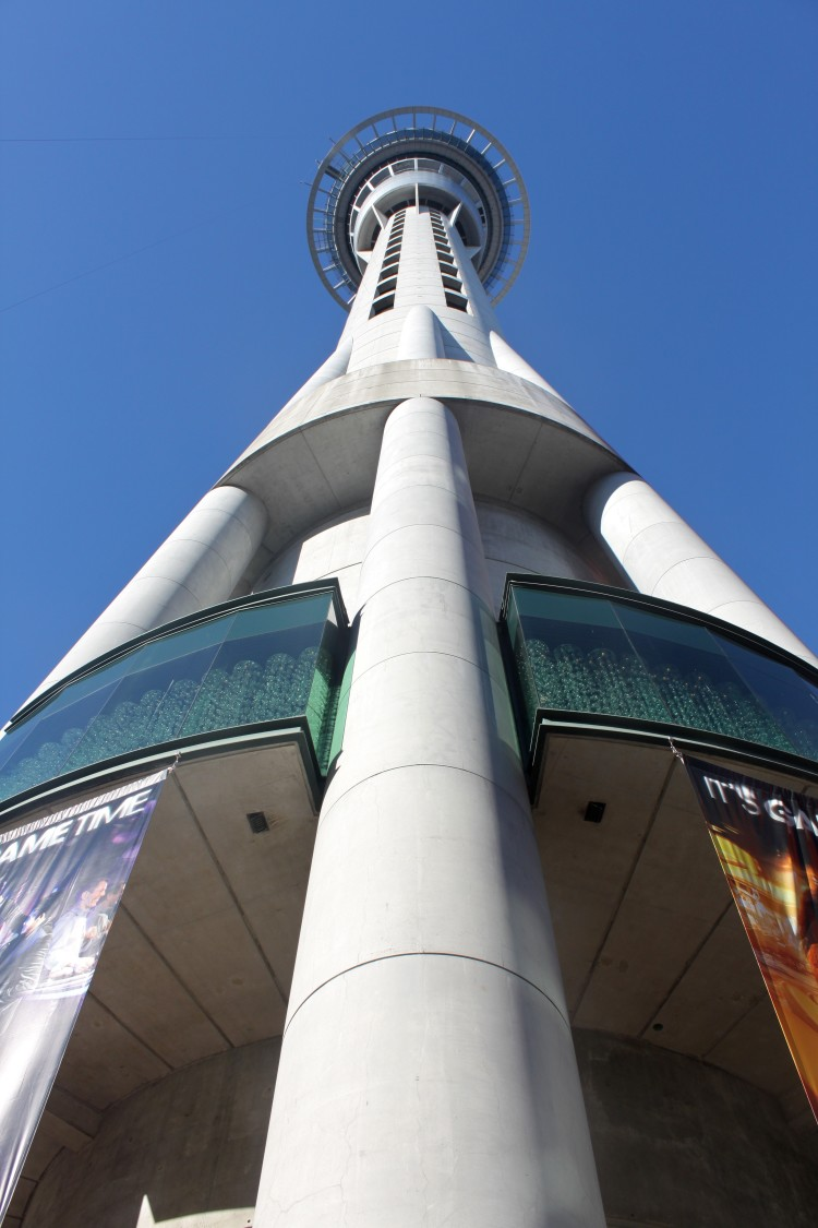 New Zealand: Sky Tower in Auckland