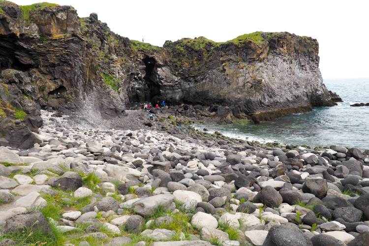 Stops on the Snaefellsness Peninsula Iceland: Hellnar Ancient Fishing Village