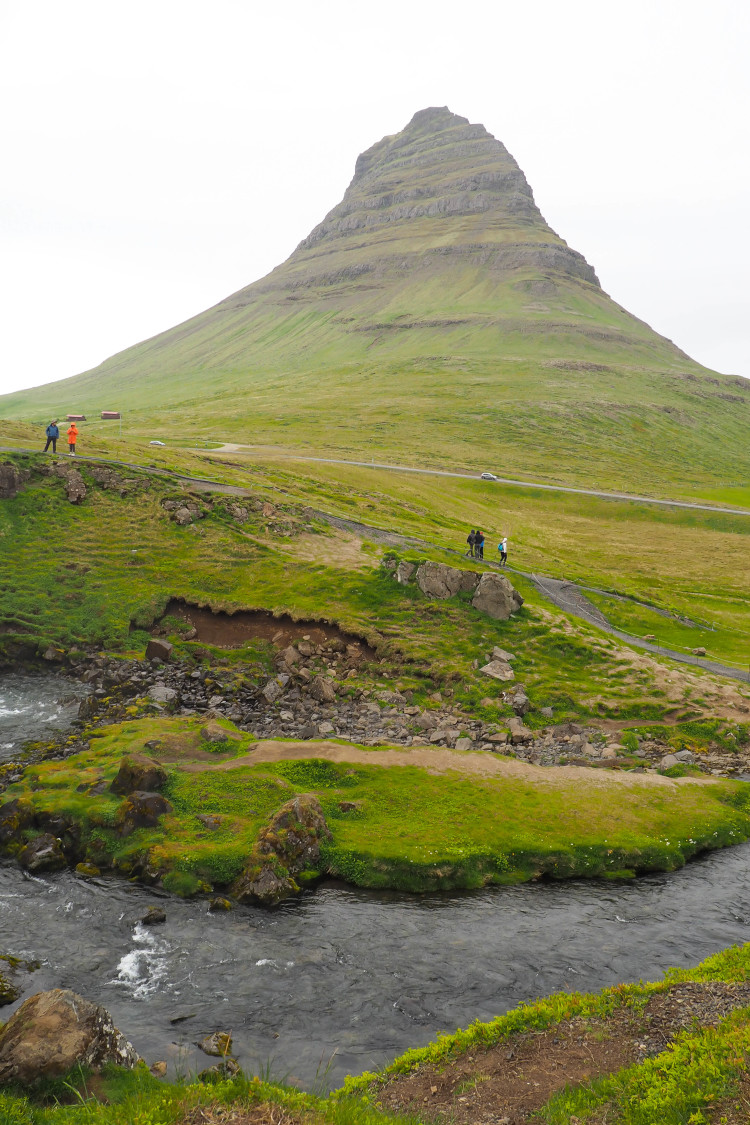 Stops on the Snaefellsness Peninsula Iceland: Kirkjufell and Kirkjufellsfoss