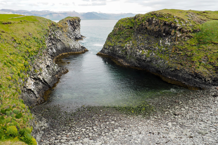 Stops on the Snaefellsness Peninsula Iceland: Arnarstapi Fishing Village