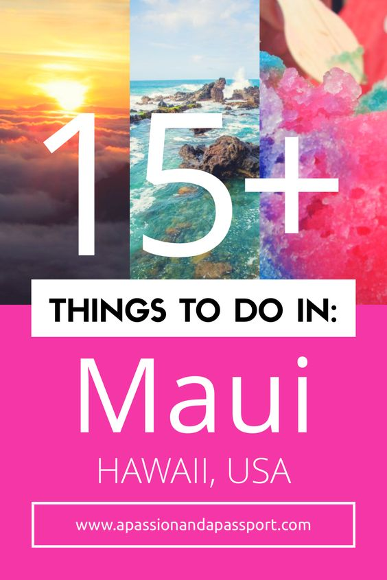 Heading to Hawaii soon and looking for the best things to do in Maui?! Use this guide to help plan a wonderful long weekend in Maui filled will all the highlights! <3
