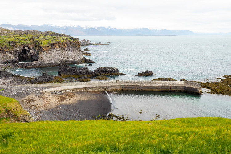 Stops on the Snaefellsness Peninsula Iceland: Hellnar