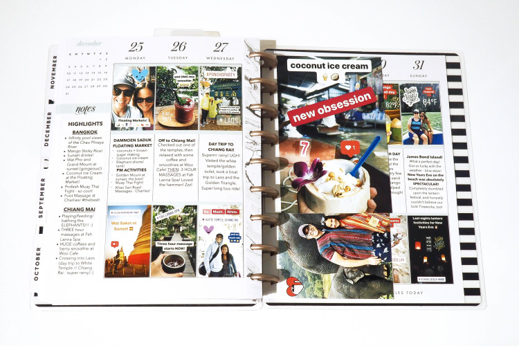 What to do with Instagram Stories: Creating a Travel (and Life!) Memory Planner