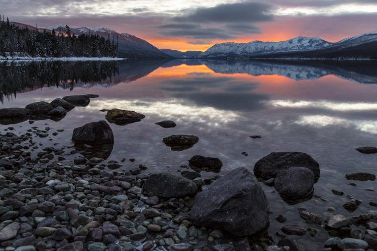 Visting Glacier National Park in the Winter: Complete Guide with Things to Do, Where to Stay, Road Closures, How to Get Around, and More!