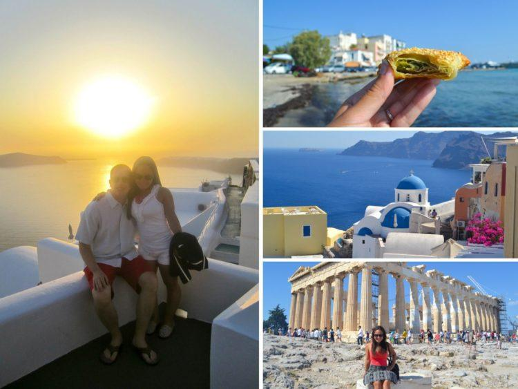 GREECE all the places I've been in 30 years!