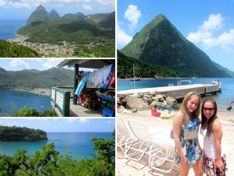 St Lucia all the places I've been in 30 years!