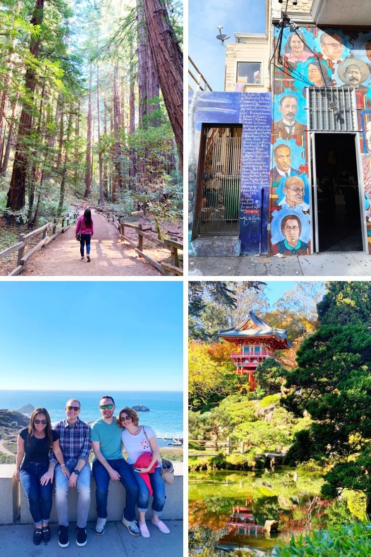 2019 Year in Review - friends visit SF
