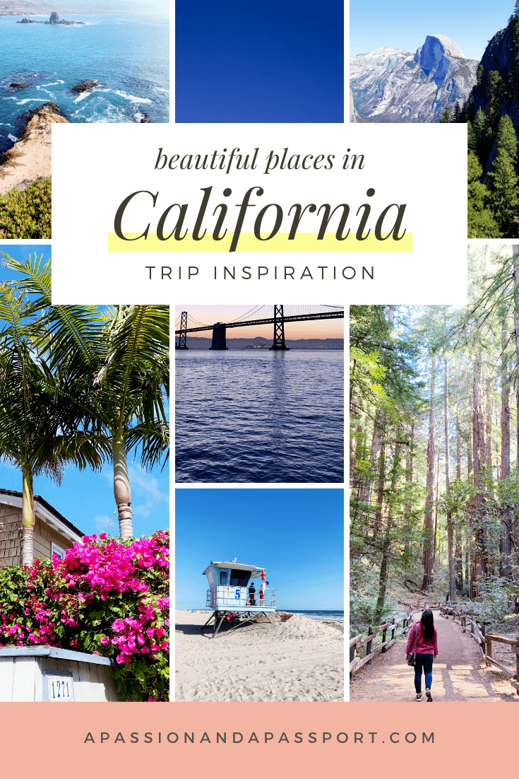 50 Prettiest Places in California: waterfalls, beaches, charming towns, and more (all the best views in California you could ever dream of)