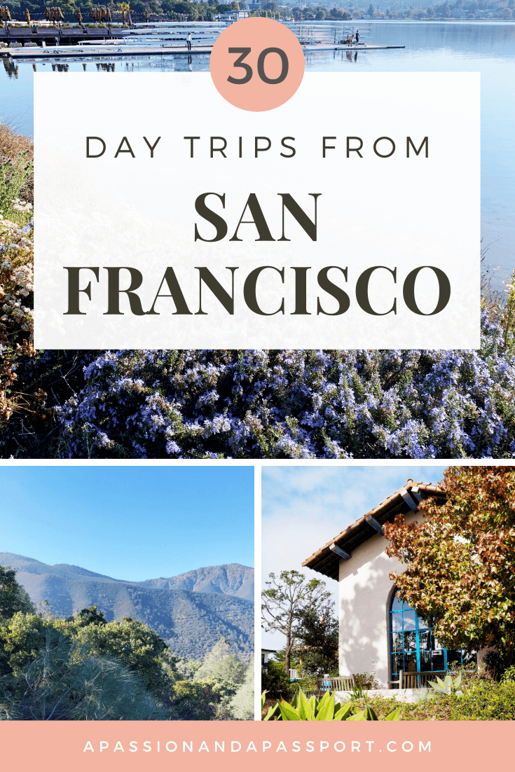 30+ Day Trips from San Francisco: lobster rolls on the beach, stunning lighthouses to photograph, sunny surfer towns, and so much more!