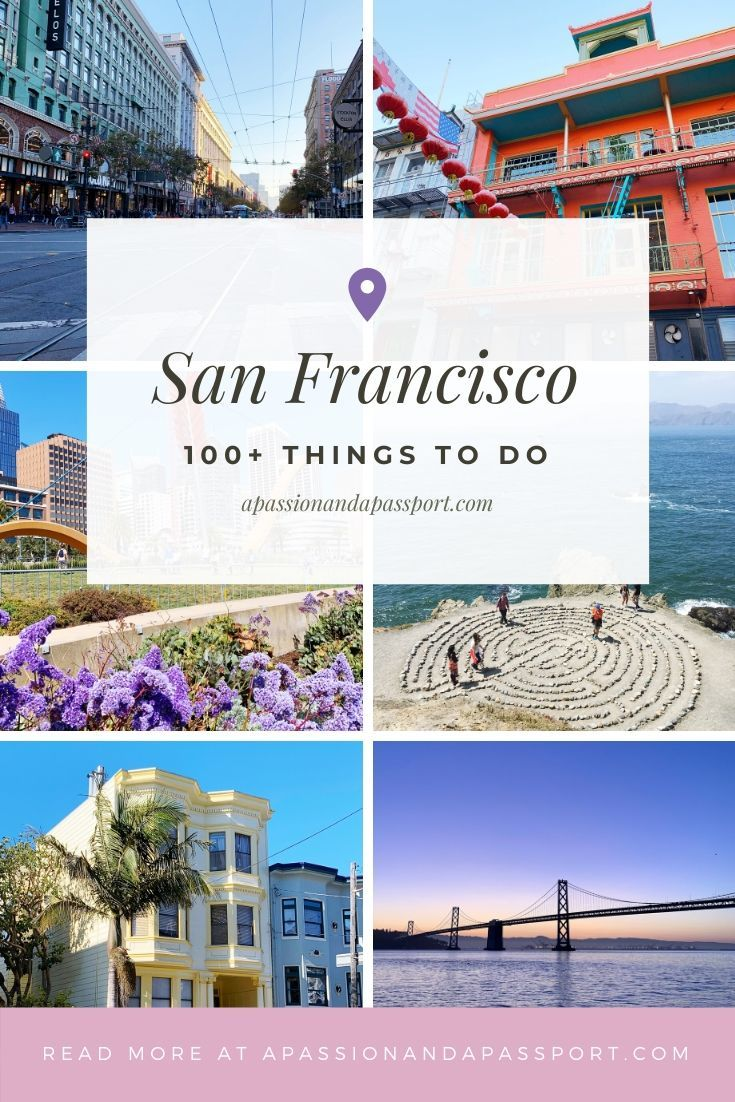 100+ Things to do in San Francisco: The ULTIMATE Bucket List #sanfrancisco #california