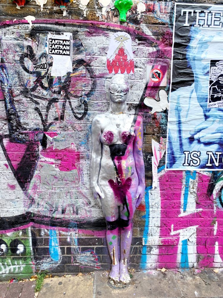 One day in London itinerary -- brick lane