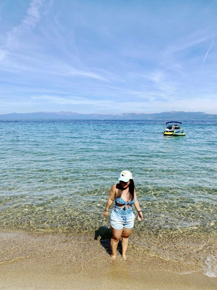 Driving around Lake Tahoe - all the best viewpoints, short hikes, and sandy beaches! The best Lake Tahoe drive there is!