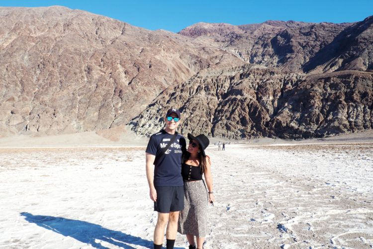 Looking for information on the salt flats in Death Valley?! This post will answer all your questions and more about the lowest point in America: Badwater Basin!