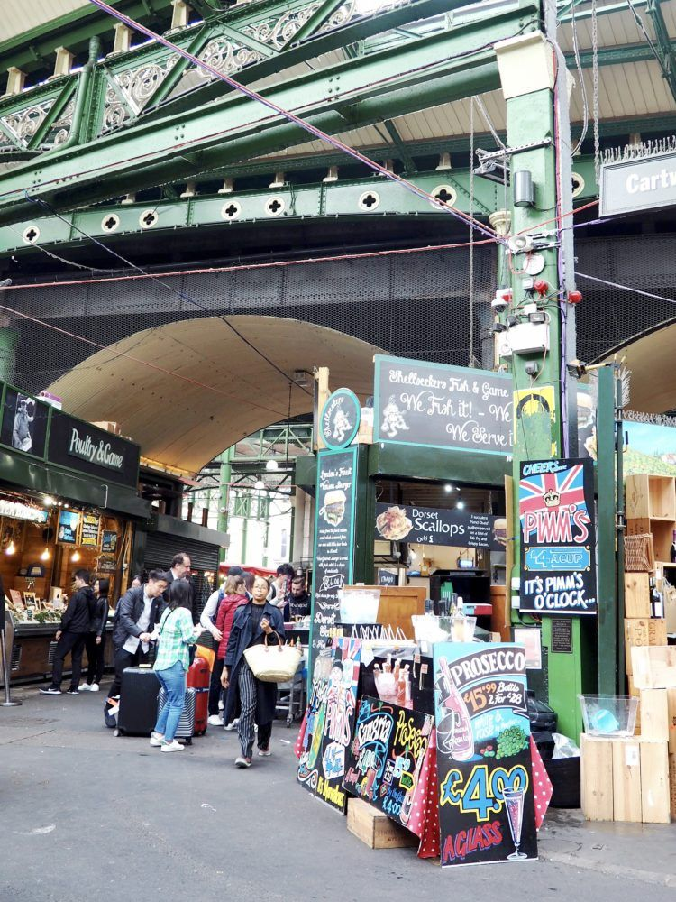 One day in London itinerary -- Borough Market
