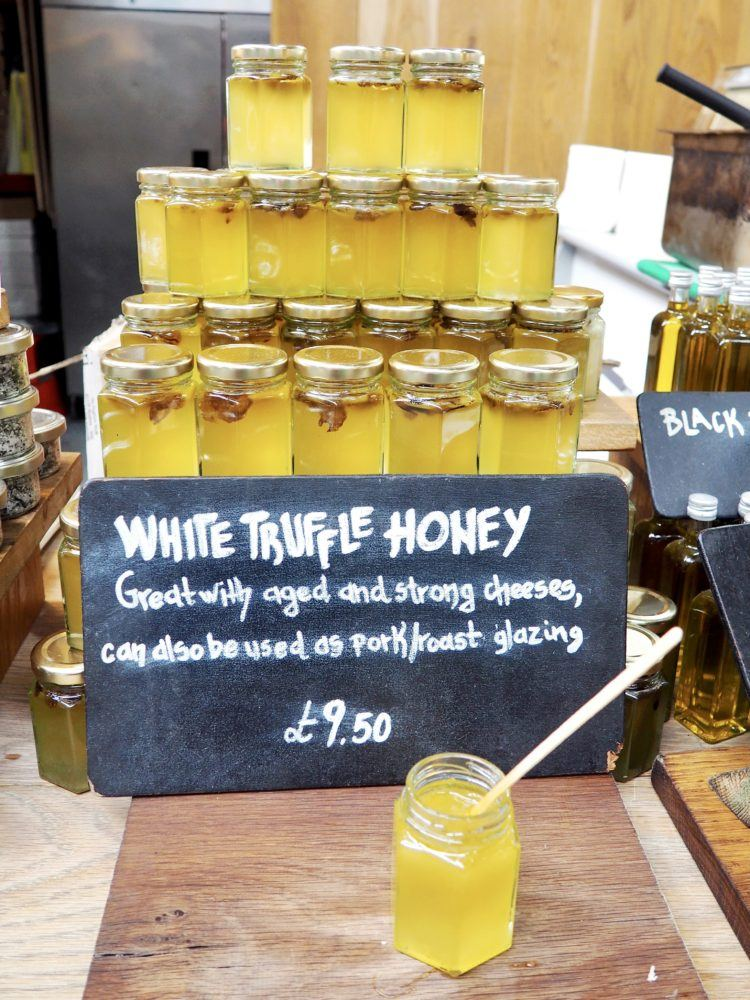 One day in London itinerary -- honey at market