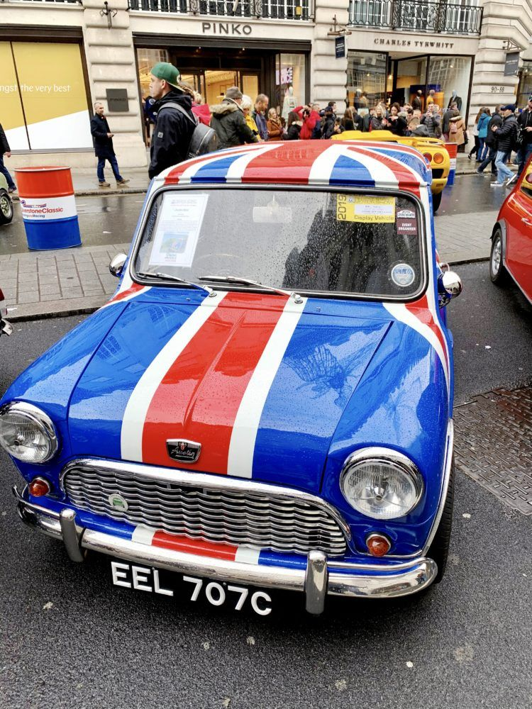 One day in London itinerary -- classic car