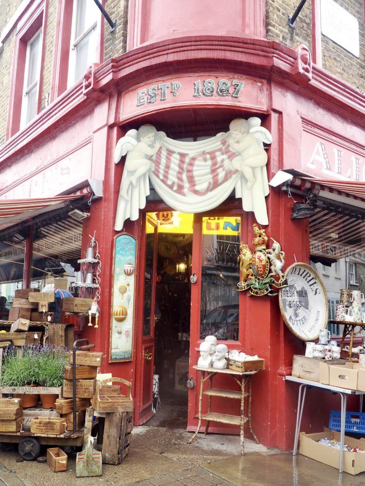 One day in London itinerary -- notting hill