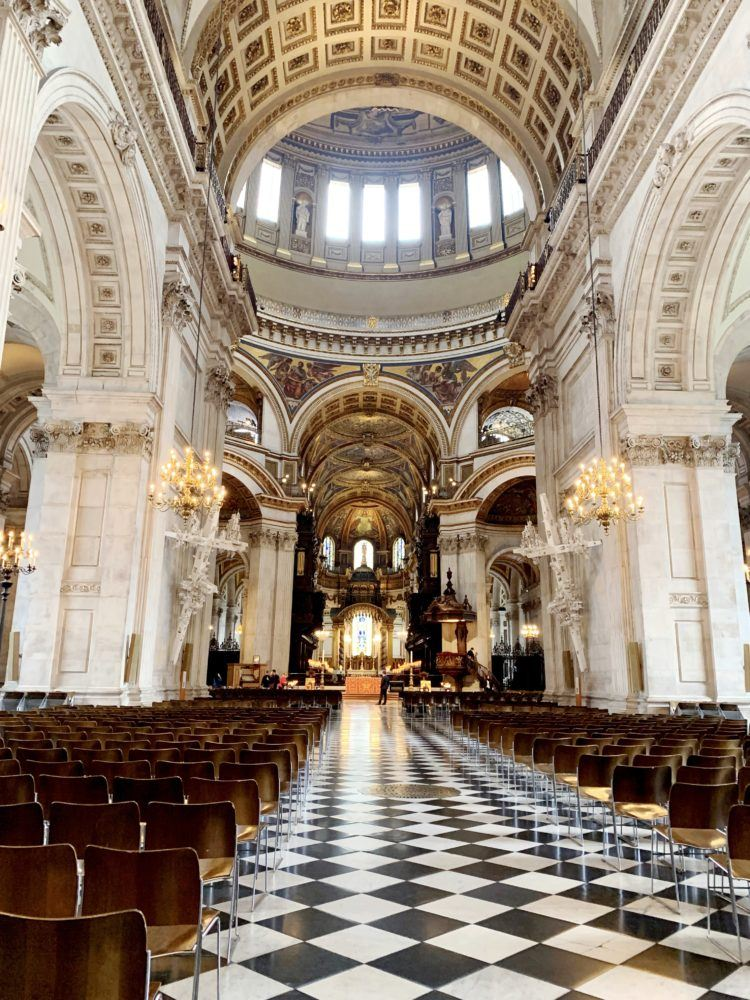 One day in London itinerary -- st pauls