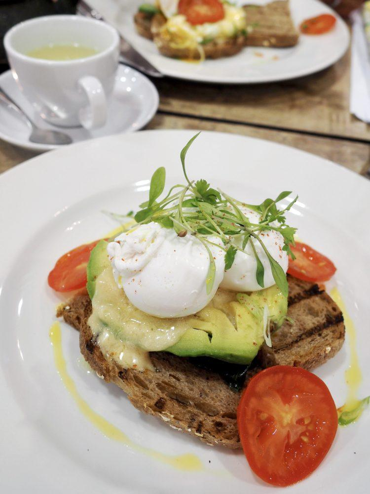 One day in London itinerary -- brunch